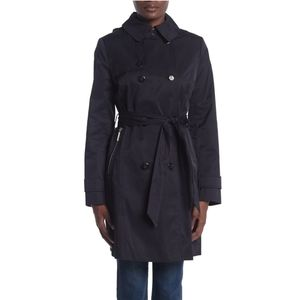 **Calvin Klein XL Navy Blue Trench Coat NWT